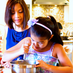 Keiki in the Kitchen: Working Parents Guy Hagi and Kim Gennaula Make Family Dinner