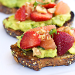 Avocado Fruit Toast: A Recipe by Chef Lee Anne Wong