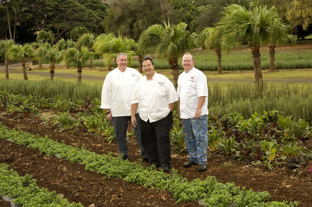 Chef Eric Faivre, Chef Tylun Pang, Chef Chris Schobel