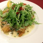 Chef Babian's Chicken Milanese and Kale Salad