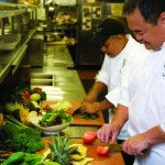 Setting The Table With Maui Culinary Academy Students