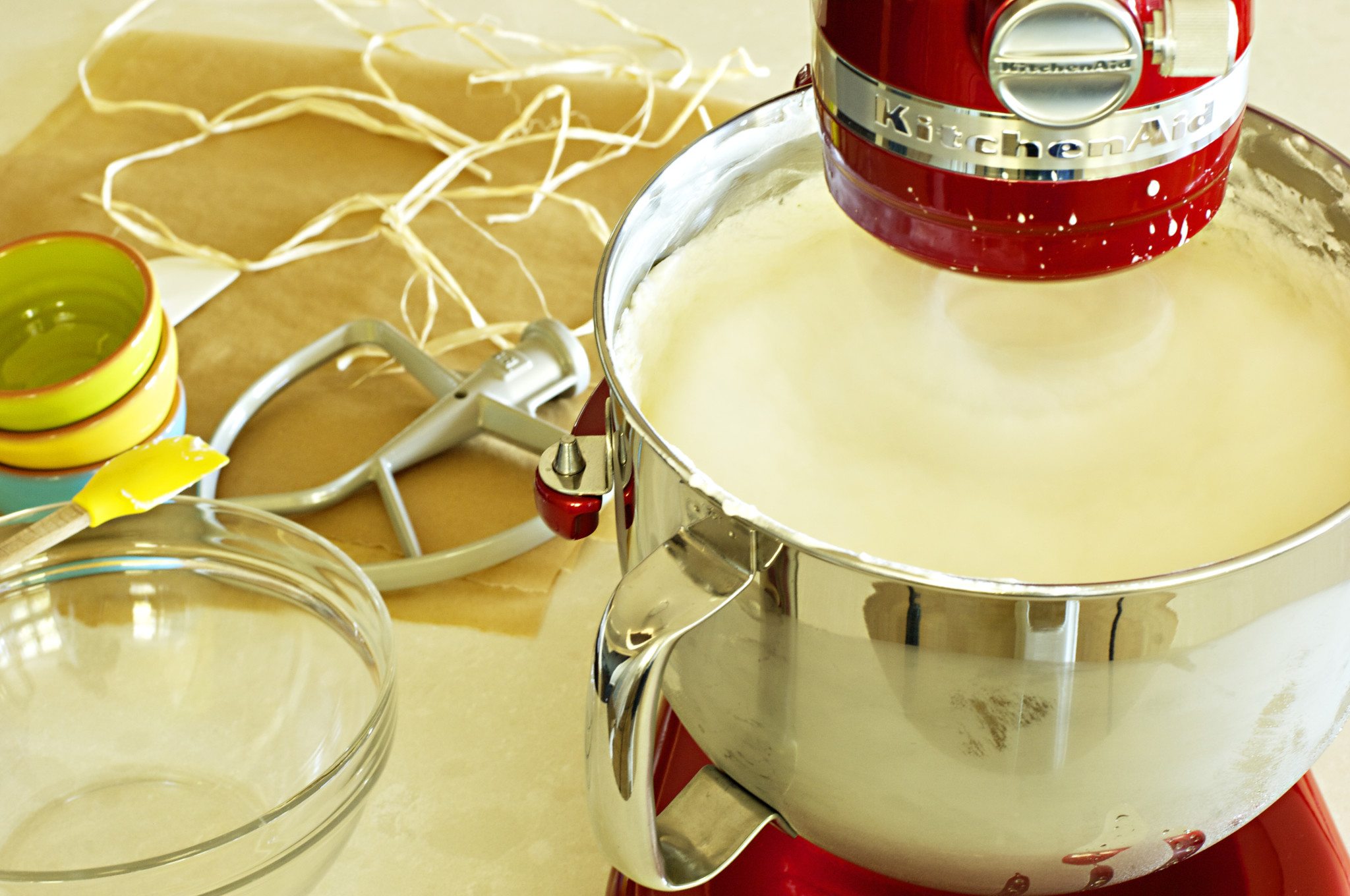 Phase two in making butter: whipping beyond cream