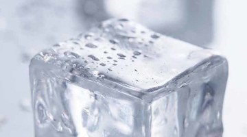 Making Square Ice Cubes