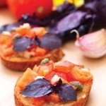 Hot Lava Tomato Bruschetta