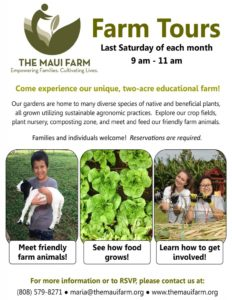 Farm Tour @ The Maui Farm- Maui