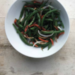 Vanilla Scented Green Beans