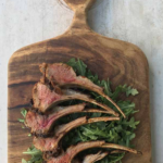 Vanilla Rubbed Rack of Lamb