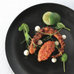 GRILLED OCTOPUS WITH ROMESCO SAUCE