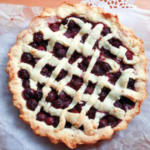 CHERRY CREAM PIE WITH CALAMANSI BUTTER