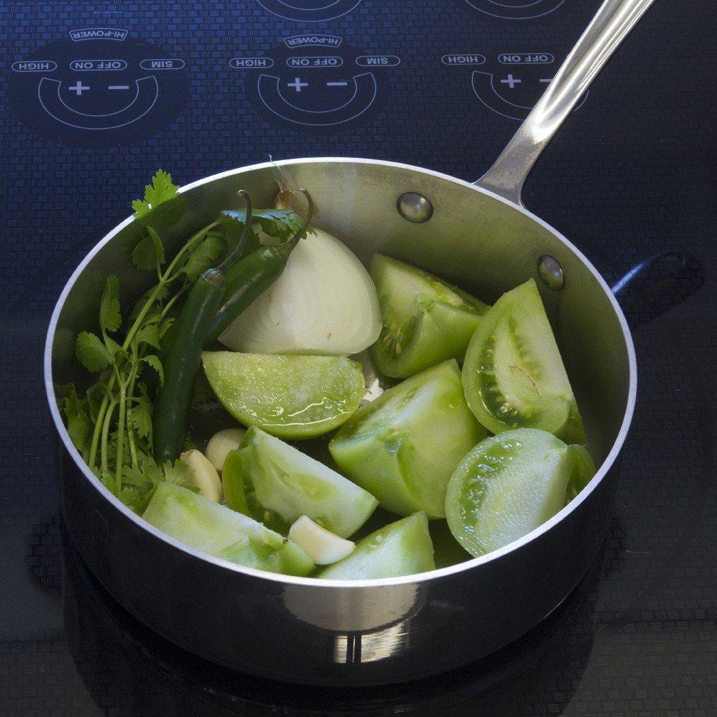 Tamales Recipe - Prepare Salsa Verde