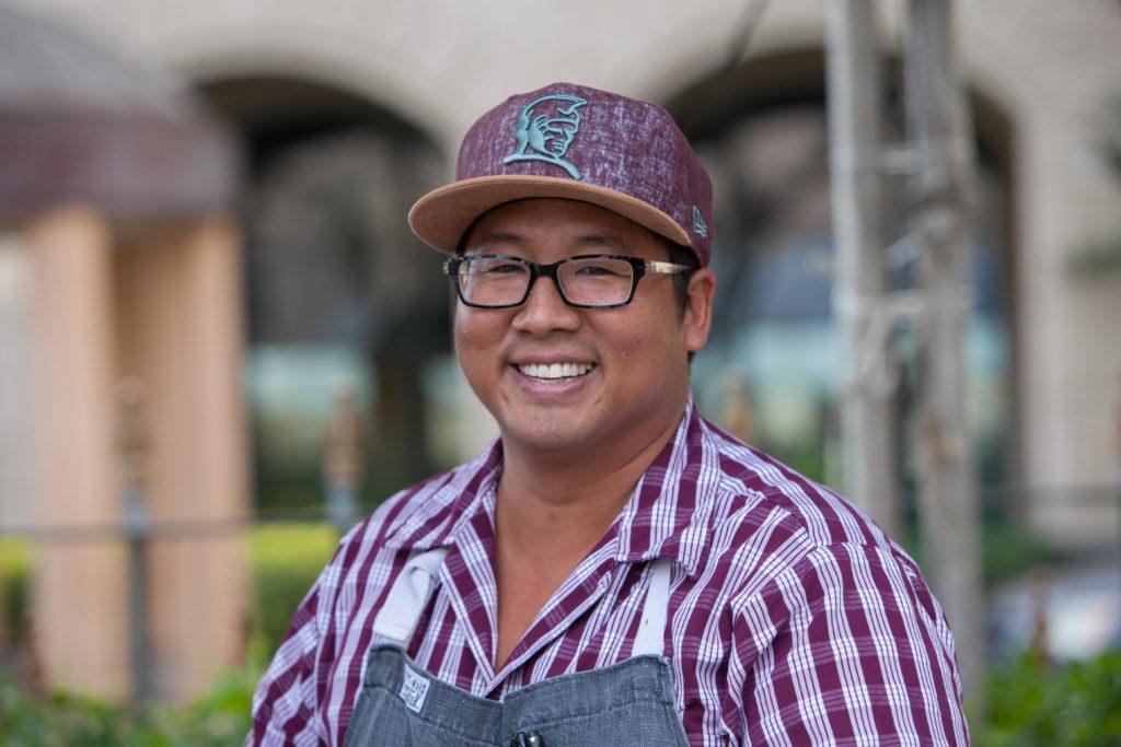 "chef Mark ""Gooch"" Noguchi"
