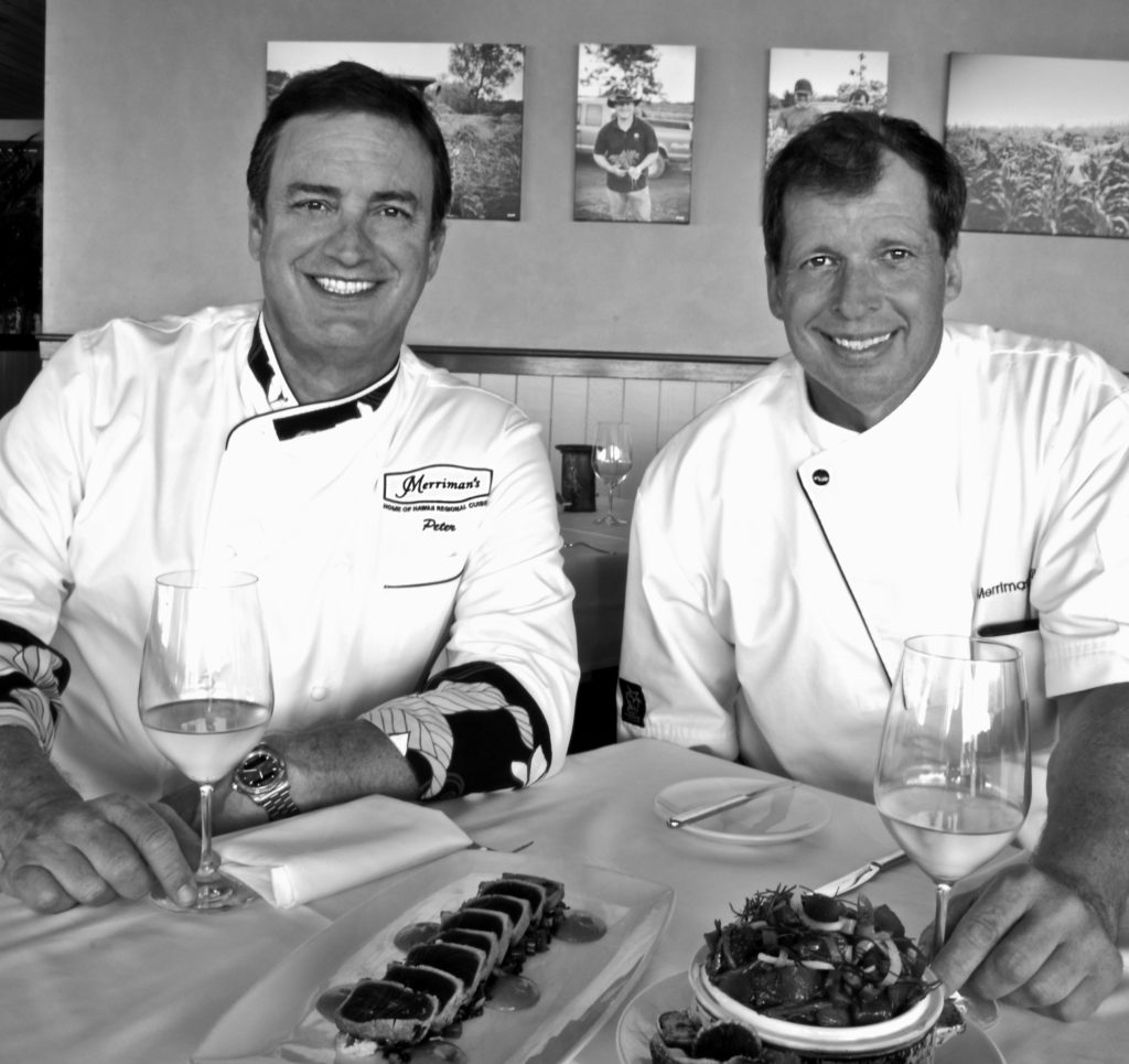 Chef Peter Merriman and Chef Neil Murphy